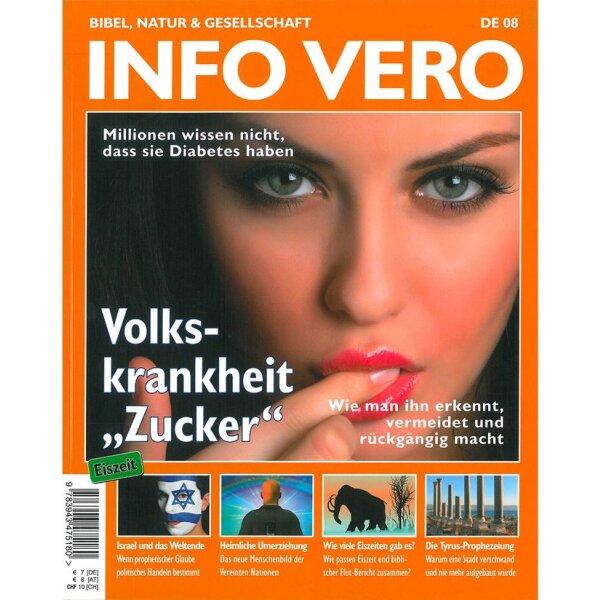 Info Vero Ausgabe 08: Volkskrankheit Zucker