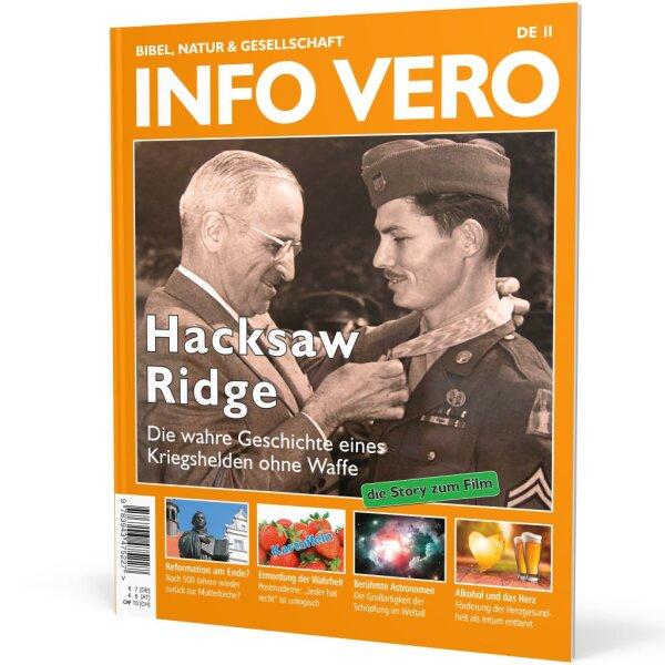 Info Vero Ausgabe 11: Hacksaw Ridge