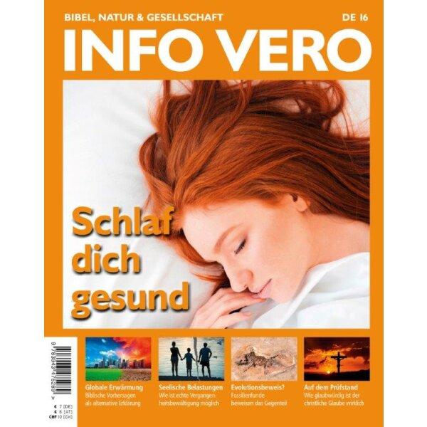 Info Vero Ausgabe 16: Schlaf dich gesund