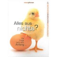 Lebensfragen-Nachdenk-Büchlein 01: Alles aus nichts?...