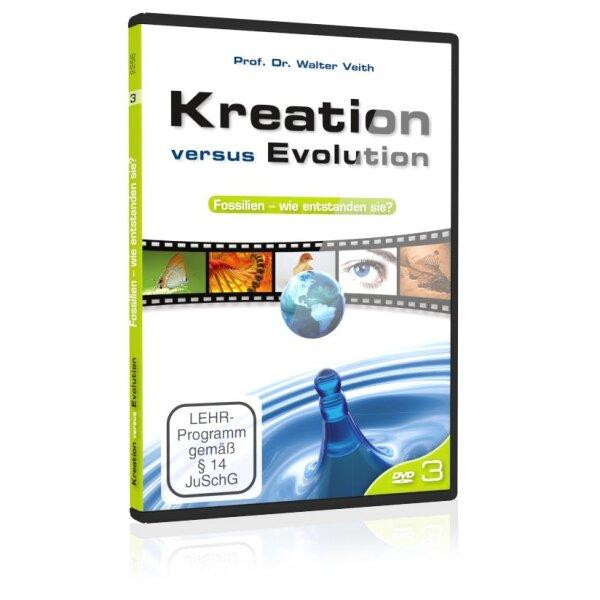Kreation versus Evolution: 3. Fossilien - wie entstanden sie?
