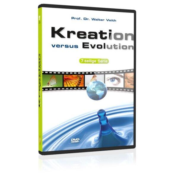 Kreation versus Evolution: 7-teilige Vortragsreihe (Neuproduktion 2010)