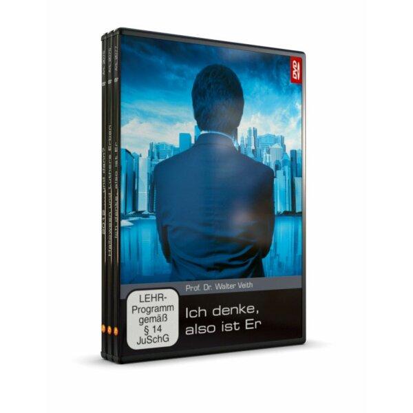 DVD 3er-Set: Halloween und Luthers Erben / Ich denke, also ist Er / 2012 ... und dann?