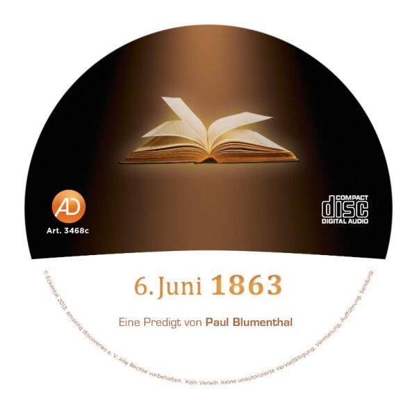 6. Juni 1863